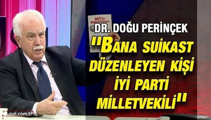 Dr. Doğu Perinçek: ''Bana suikast düzenleyen kişi İyi Parti milletvekili''