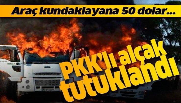 İstanbul'da 50 dolara araç kundaklattıran PKK'lı terörist tutuklandı!