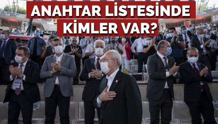 Kılıçdaroğlu'nun anahtar listesinde kimler var?