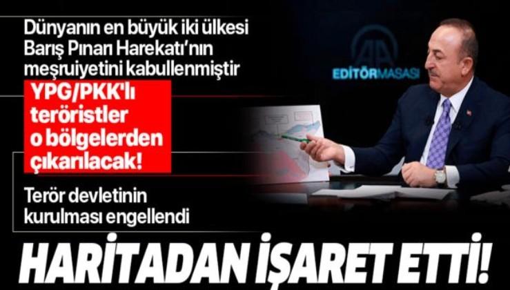 Son dakika: Bakan Çavuşoğlu: Türkiye 5 gün içinde 2 önemli güçle anlaşma sağladı.