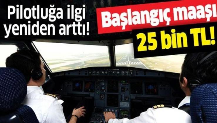 25 bin TL maaşla işe başlanıyor! Pilotluğa ilgi yeniden arttı! Pilot olma şartları neler? Nasıl pilot olunur?