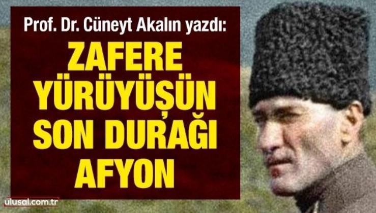 Prof. Dr. Cüneyt Akalın yazdı: Zafere yürüyüşün son durağı: Afyon