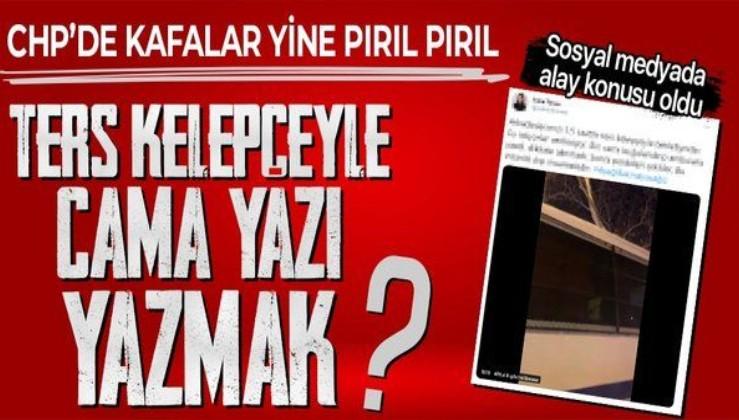 """CHP'li Tuba Torun'un Boğaziçi provokasyonu elinde patladı! """"Ters kelepçeyle cama ambulans"""" yazdılar yalanı alay konusu oldu"""
