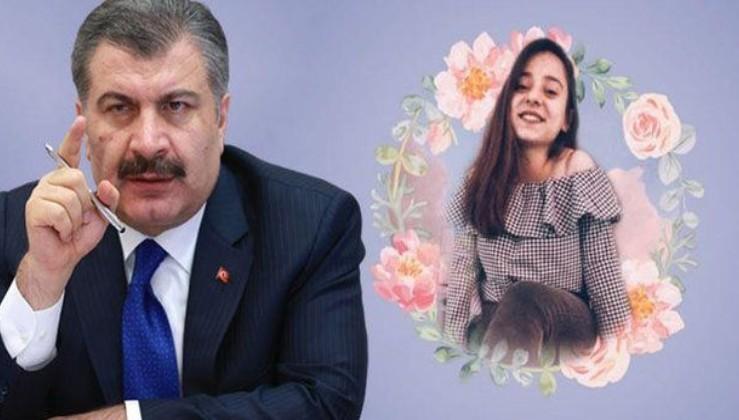 Son dakika: Sağlık Bakanı Koca'dan Büşra hemşireye destek mesajı!