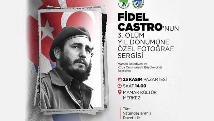 AKP'li belediye tabuları yıktı: Ankara'da Fidel Castro'nun anısına özel fotoğraf sergisi düzenleniyor.