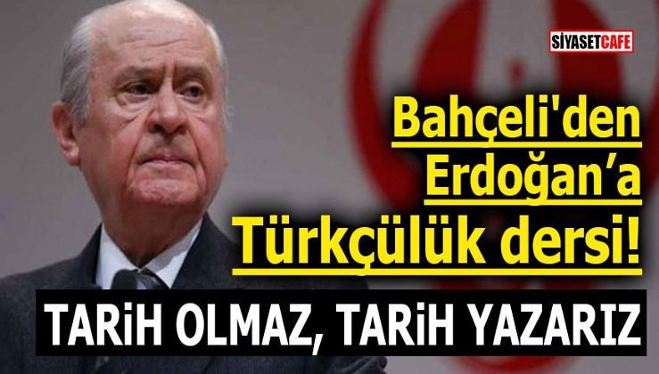 Bahçeli: ABD hem Türkiye'yi hem YPG'yi idare ediyor