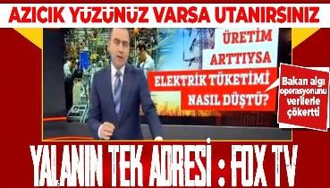 FOX TV'nin sanayi üretimi üzerinden yaptığı algı operasyonunu Bakan Varank çökertti!