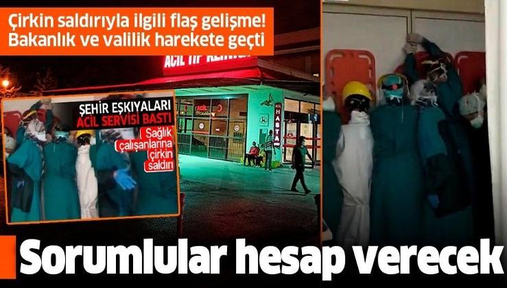 Son dakika: Ankara'da sağlık çalışanlarına saldırıyla ilgili flaş gelişme: Tahkikat başlatıldı