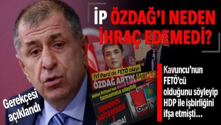Ümit Özdağ'ın İYİ Parti'den ihracının iptal edilmesi kararının gerekçesi açıklandı