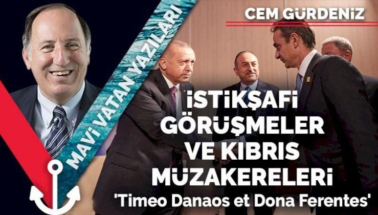 İstikşafi görüşmeler ve Kıbrıs müzakereleri: 'Timeo Danaos et Dona Ferentes'
