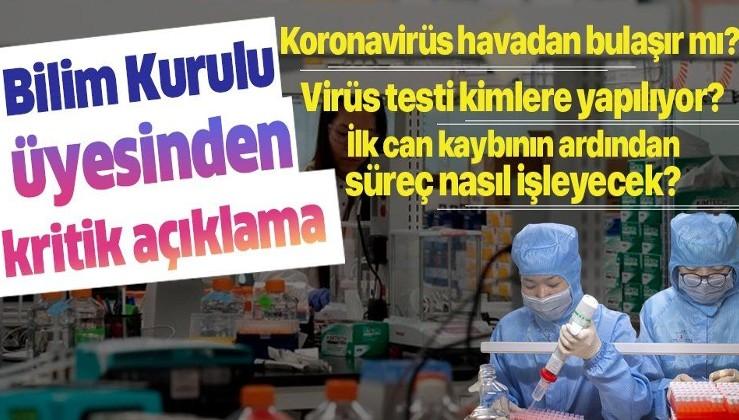 Koronavirüs Bilim Kurulu Üyesi Prof. Dr. Tevfik Özlü: Mecbur olmadıkça hastaneye gitmeyin!