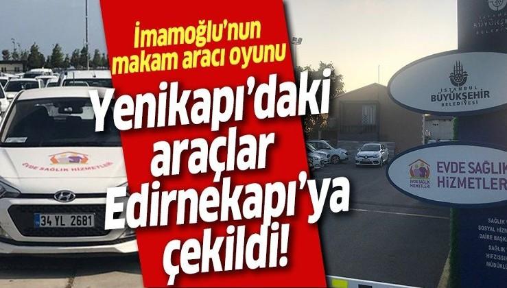 Yenikapı'daki araçlar Edirnekapı'ya çekildi!.