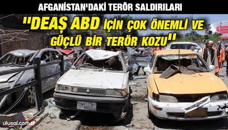 Afganistan'ın eski Ulusal Güvenlik Müsteşar Yardımcısı Sayed Enver Sedat: ''DEAŞ ABD için çok önemli ve güçlü bir terör kozu''