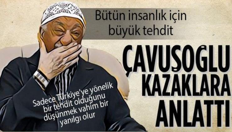 Dışişleri Bakanı Mevlüt Çavuşoğlu'nun FETÖ'yü anlattığı makalesi Kazak basınında