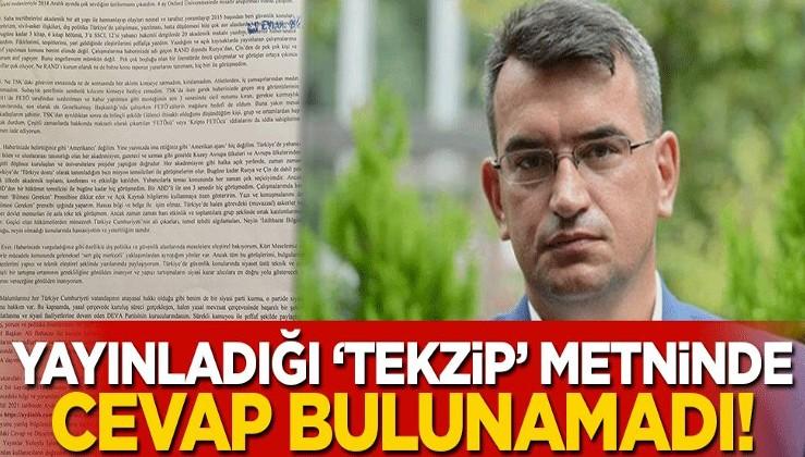 Metin Gürcan hakkındaki iddialara ilişkin 'tekzip' metni yayınladı! Koskoca iki sayfada tek bir cevap bulunamadı