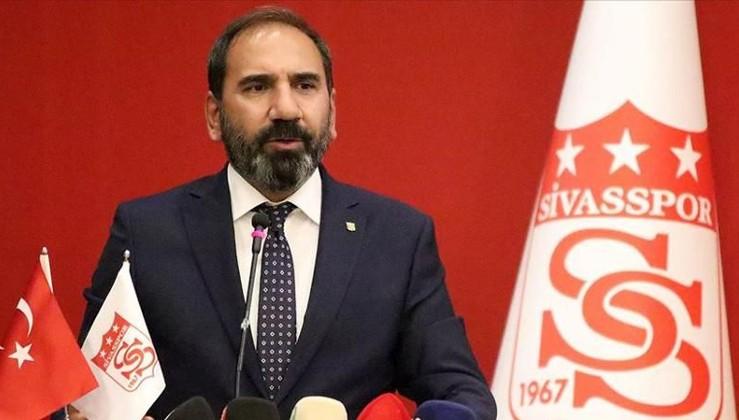 Sivasspor Kulübü Başkanı Mecnun Otyakmaz:VAR'ı iptal etsinler