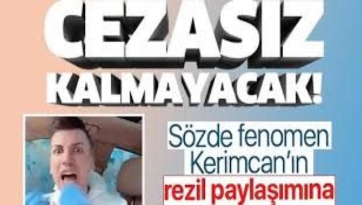 Kerimcan Durmaz'ın 'Çıkın dışarı hepiniz geberin' videosu cezasız kalmayacak | 3 yıl hapsi istendi