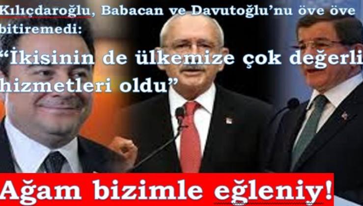 """Kılıçdaroğlu: """"Babacan da Davutoğlu da ülkeye değerli hizmetler yaptı"""""""