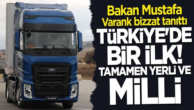 Bakan Mustafa Varank Türkiye'nin ilk yerli ve milli şanzımanını tanıttı