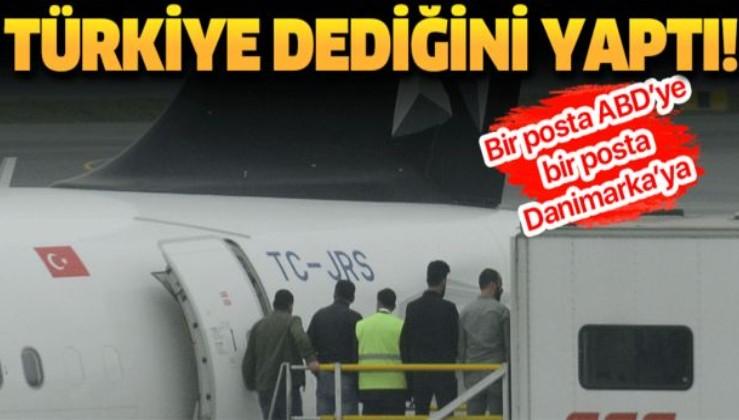 Son dakika: Danimarkalı terörist, ülkesine gönderildi.