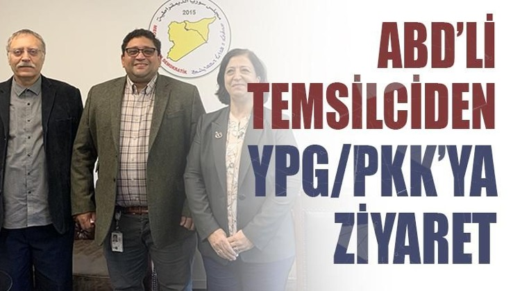 ABD'li temsilciden YPG/PKK'ya ziyaret