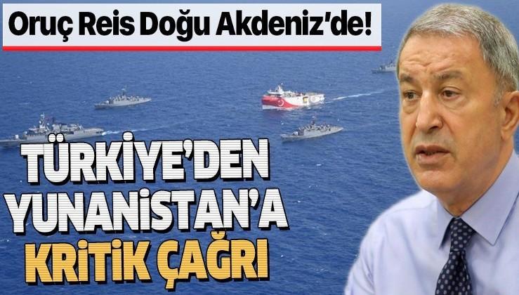 Son dakika: Bakan Akar'dan Doğu Akdeniz açıklaması: Türkiye diyalogla çözmek istiyor