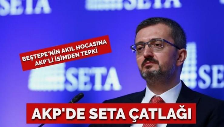 AKP'de SETA çatlağı… Beştepe'nin akıl hocasına tepki