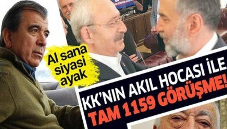 Son dakika: Enver Altaylı, Kılıçdaroğlu'nun akıl hocası Rasim Bölücek ile tam bin 159 kez görüşmüş!.