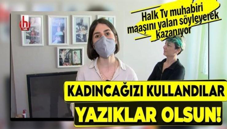 """Halk TV'de yayınlanan """"Kanser hastası kadına Eyüp Belediyesi'den cevap: Önce AKP üyesi ol!"""" haberi tamamen yalan!"""