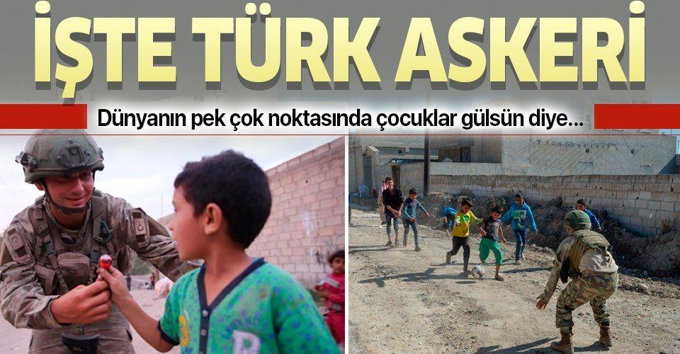 """Milli Savunma Bakanlığı'ndan """"Dünya Çocuk Hakları Günü"""" paylaşımı"""