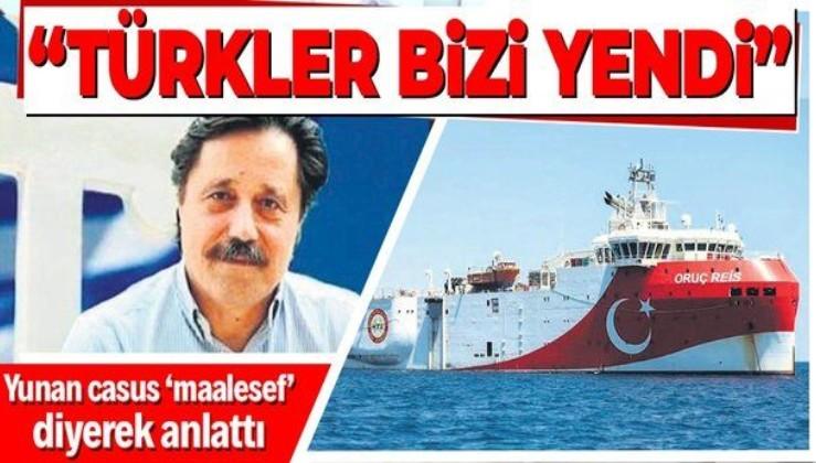 """Yunan casus Kalenderidis, Akdeniz'de Türk-Yunan gerilimine nokta koydu: """"Türkler bizi yendi"""""""