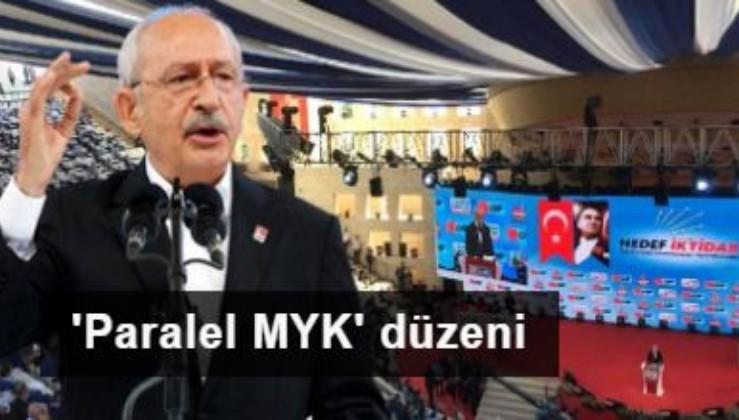 CHP'de 'Paralel MYK' düzeni