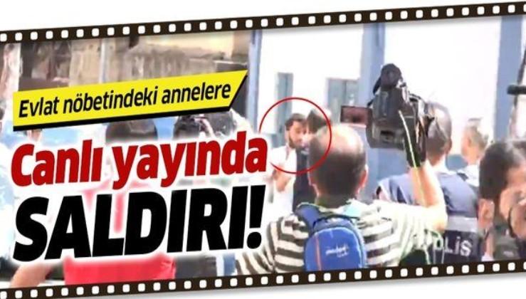 Diyarbakır'daki acılı annelere canlı yayında saldırı!.