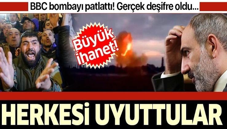 SON DAKİKA: BBC bombayı patlattı! Resmi televizyon Ermenileri uyuttu