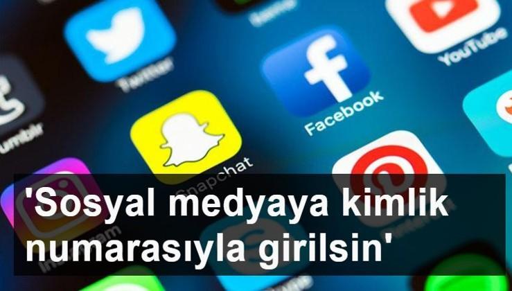Sosyal medyada sahte hesaplara karşı kanun teklifi verildi