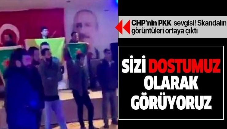 """CHP'li isimden skandal PKK açıklaması! """"Sizi dost olarak görüyoruz"""""""