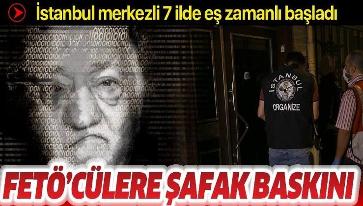 Son dakika: İstanbul merkezli 7 ilde FETÖ operasyonu: 51 şüpheli hakkında gözaltı kararı verildi