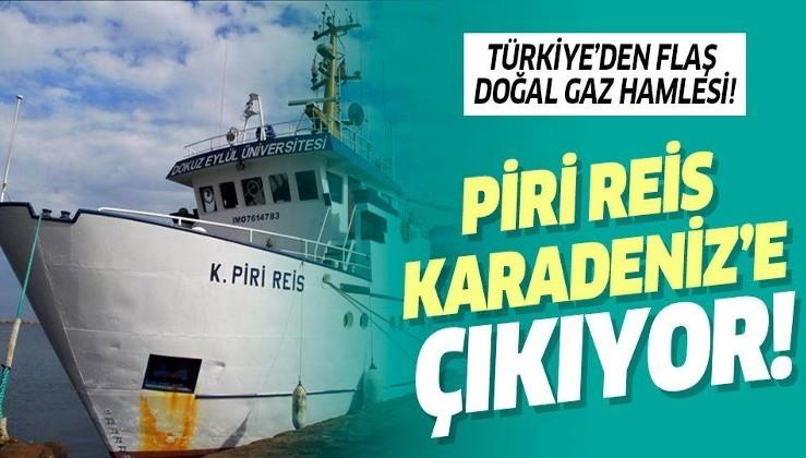Türkiye'den doğal gaz hamlesi! Koca Piri Reis Karadeniz'de çalışacak