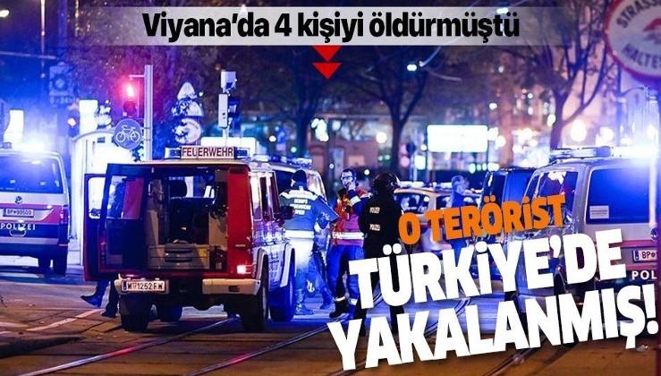 Avusturya'nın başkenti Viyana'da 4 kişiyi öldüren terörist 2018'de Türkiye'de yakalanmış