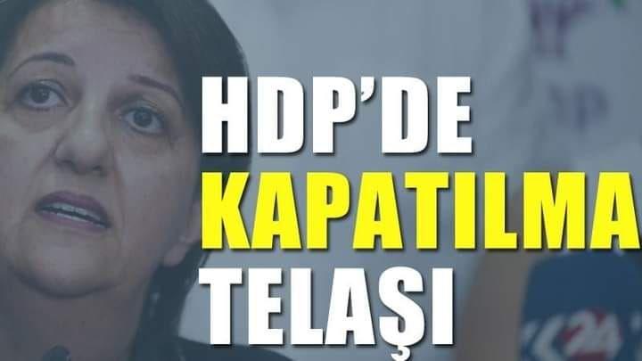 HDP'de kapatılma telaşı