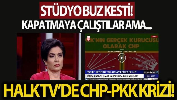 SON DAKİKA: Halk TV'de CHP-PKK krizi: PKK'nın gerçek kurucusu olarak CHP
