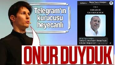 """Telegram'ın kurucusu Pavel Durov'dan """"dijital göç"""" açıklaması! Cumhurbaşkanı Erdoğan'ı örnek verdi"""