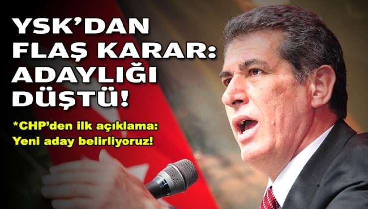 Tuncay Özkan'a gün doğdu! YSK'dan CHP İzmir'e şok haber!