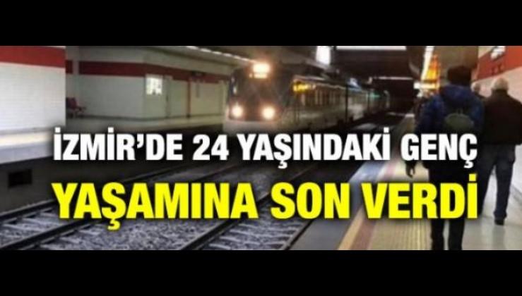 İZMİR'DE 24 YAŞINDAKİ GENÇ YAŞAMINA SON VERDİ