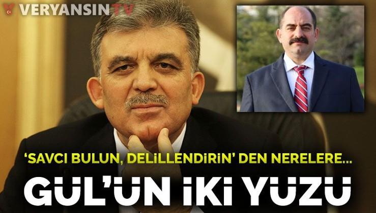 Abdullah Gül'ün iki yüzü