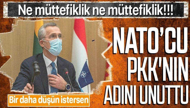 NATO, Türkiye'ye baş sağlığı diledi ama bu kez terör örgütü PKK'nın adını unuttu