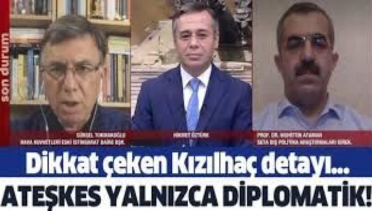 """""""Ateşkes yalnızca diplomatik!"""" Azerbaycan ve Ermenistan arasında alınan ateşkes kararıyla ilgili dikkat çeken açıklama"""