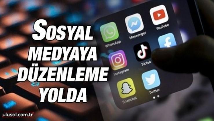 Sosyal medyaya düzenleme yolda