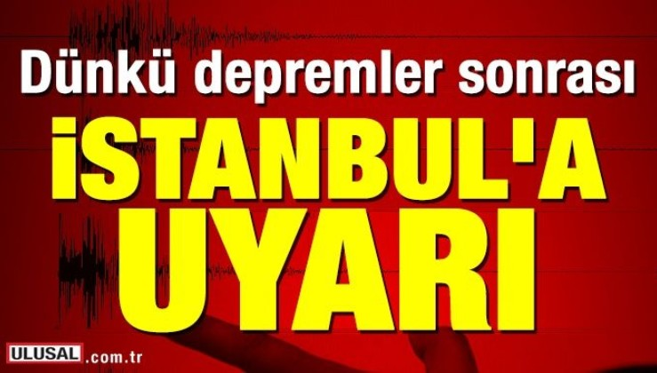 """""""İstanbul Marmara deprem olma olasılığı sıralamasında önlerde"""""""