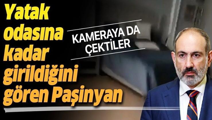 Öfkeli Ermeniler, Ermenistan Başbakanı Nikol Paşinyan'ın yatak odasını bastı